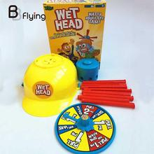 Wet Head Funny Water Roulette Family Party Game Challenge Children Toy