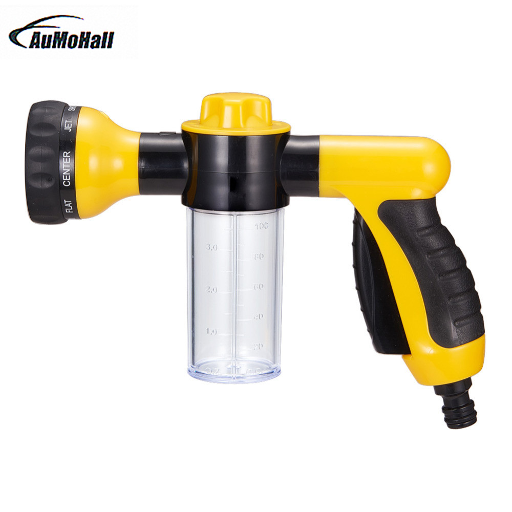 Car Washer Water Gun High Pressure Spray Multifunctional Foam Water Gun Cleaning Washer Use For Home Portable Auto title=