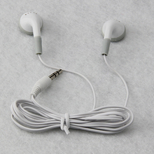 Wholesale 200Pcs/lot headphones headset 3.5mm gift earphones for mp3 mp4 CD IPHONE 3 4 5 6 7 FREE SHIPPING