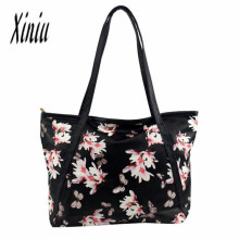 Women Fashion Leather Bag Flowers Handbag Shoulder Bags Messenger women's handbags purse bolsas Sacos Senhoras big discount bags