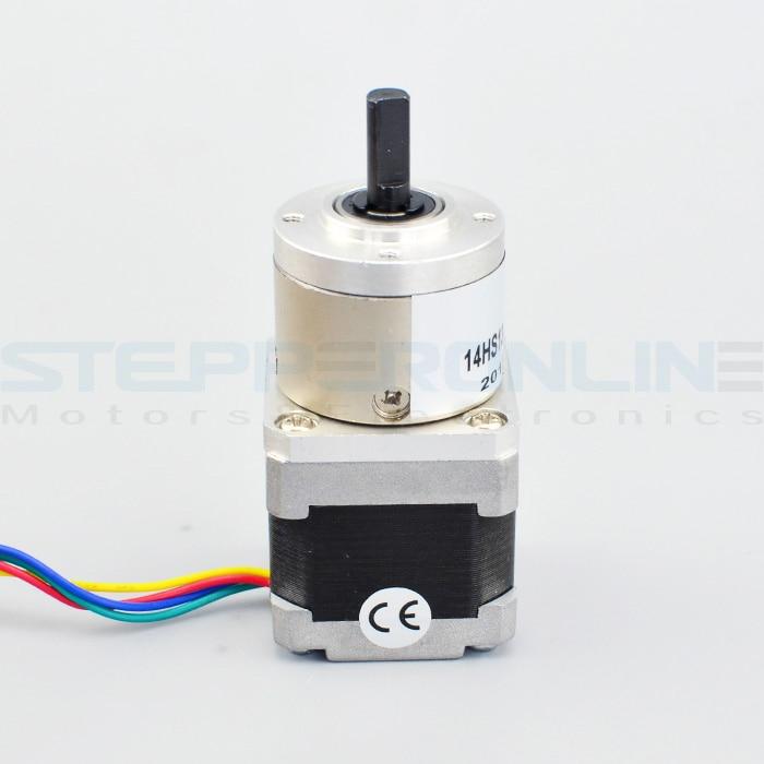 5:1 Planetary Gearbox Nema 14 Stepper Motor 0.8A for DIY CNC Robot 3D Printer<br>