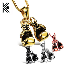 Boxing Gloves Necklace For Men Sporty zinc alloy Pendant Necklaces move Men Jewelry Best Gift Game gift jewelry xl0168