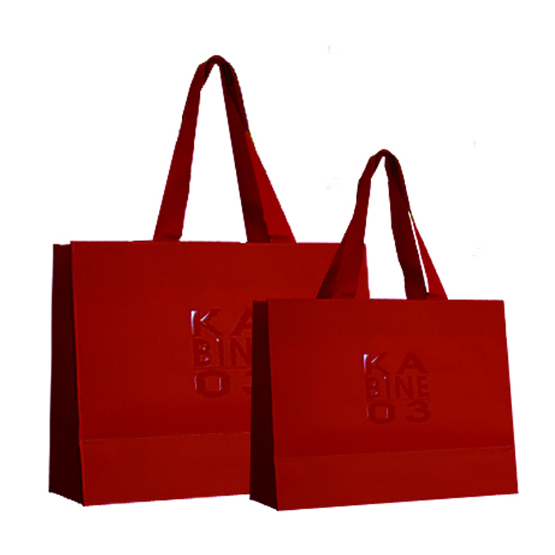 Paper Bags With Hot Stamping Logo