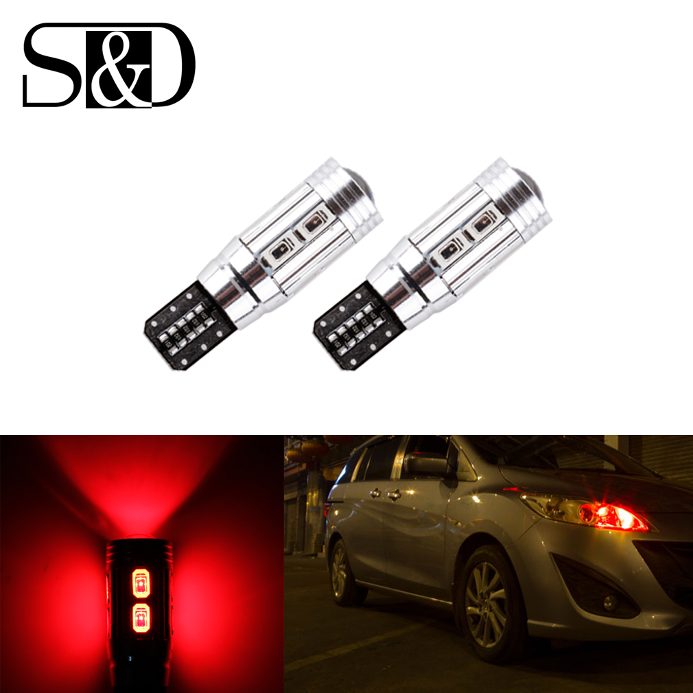 4PCS T10 W5W 10-SMD 5630 Red CANBUS OBC Error Free LED Lamp 501 dash Car LED bulbs interior Auto Lights Source parking 12V<br><br>Aliexpress