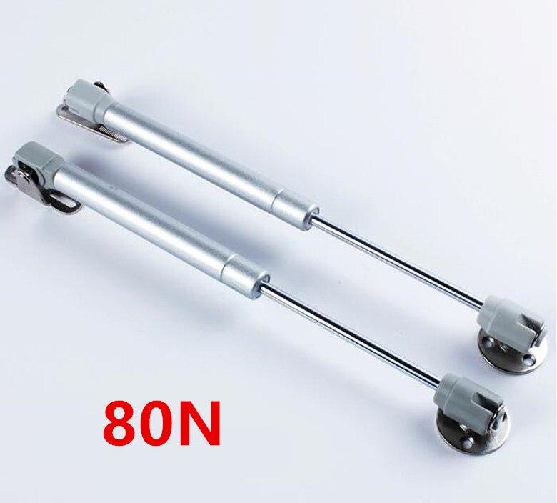 Barra de apoyo hidr/áulico puerta de armario con bisagra de cierre suave 40//60//80//100//120//150N con amortiguador de gas para armario