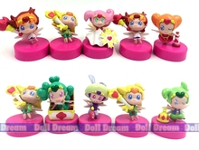 10pcs/lot 5cm random send kawaii Q version Japanese original anime figure Go Princess Pretty Cure Precure action figure set best
