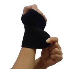 Compression Right Thumb Wrist Support Brace Men Women Fitness Strength Training Weight Lifting Powerlifting Elastic Wrist Straps(China)