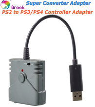 BROOK USB Super Converter For PS2 To PS3 & PS4 Controller Converter Adapter USE your PS2 Controllers with your PS3 / PS4