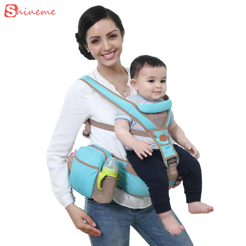 new quality Mambobaby children Designer Baby Carrier Sling Hipseat Kanguru Wrap Backpack Breathable Infant Carrier 4 Positions<br>