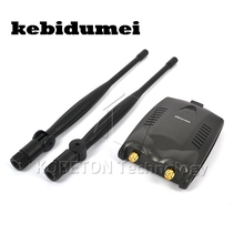 kebidumei 2016 Newest USB2.0 Wireless BT-N9100 Beini free internet 3000mW High Power Dual OMNI Antenna Wifi Adapter Ralink 3070L(China)