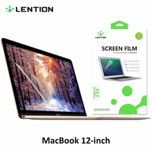 LENTION Super Protective Anti Scratch HD Laptop Screen Protector Display Guard Flim Ultra Clear PET For Macbook 12 inch A1534(China)