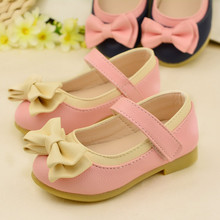 girls shoes 2016 new bow splice fashion girls sandals child designer single princess shoes summer girls sandals size 21-30