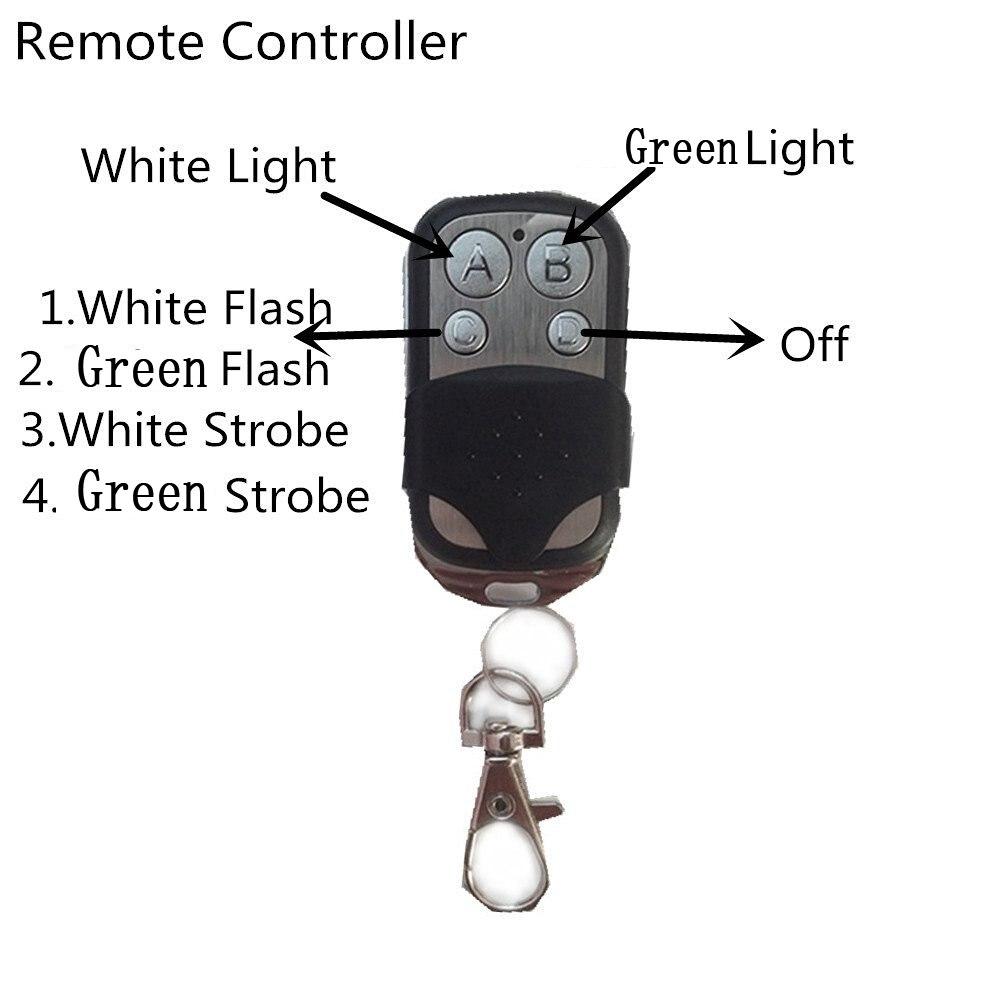 Remote-white Green