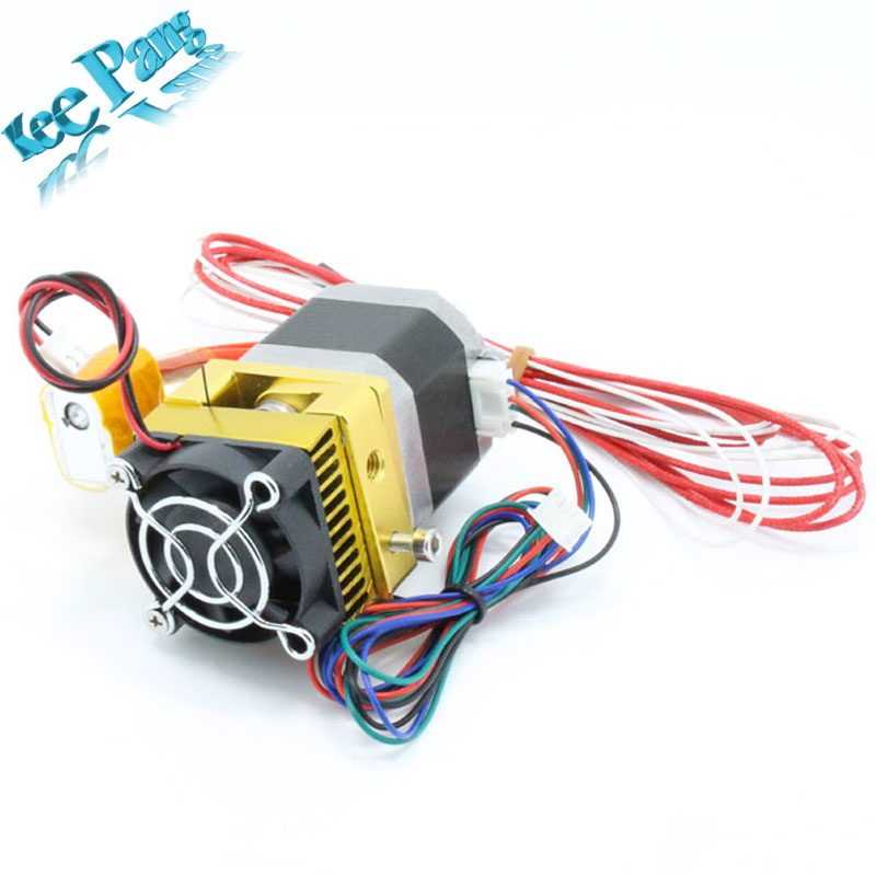 Upgrade Extruder MK8 Head J-head Hotend For Makerbot Prusa i3 3D Printers Parts with Motor Nozzle Throat Tube Fan Impresora Part<br><br>Aliexpress