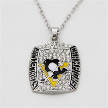 Pittsburgh Penguins EVGENI MALKIN Necklaces/Jersey Fans Gift Necklaces With Box(China)