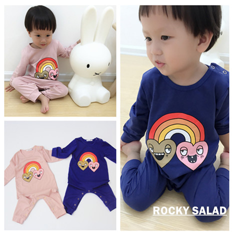 2017 winter BABY Boy clothes baby ROMPERS ins rainbow baby girl clohtes  VESTIDOS reine des neiges KIKIKIDS ins hot christmas<br><br>Aliexpress