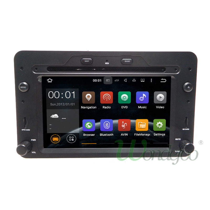 Android 7.1 Car DVD PLAYER For Alfa Romeo