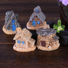 Micro Miniature Decoration Stone Dollhouse House Fairy Garden Cottage Landscape DIY Design Crafts Rondom Styles(China)