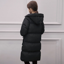 2017 Womens Winter Jackets Fashion Warm Winter Coat Women Hooded Long Coats Parka Down Coat High Quality Italy Down Jacke FB6093