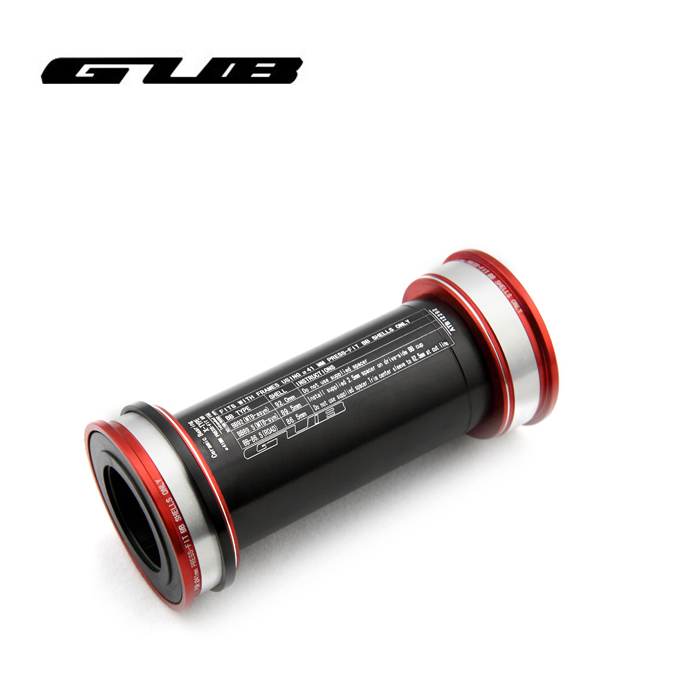 GUB ceramics Screw thread/ Press in type Bottom Bracket BB86 BB90 BB92 Press-fit for Sh1mano Black mtb bike bicycle parts<br>