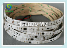 30leds ws2811 rgb color changeable led strip light;30leds/m with10pcs WS2811 IC,5M/roll,12V,White PCB,Waterproof silicon coating(China)