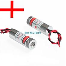 new 650nm 5mW Red Laser Line Module Glass Lens