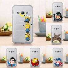 new  Case Clear Hard Back Case for Samsung Galaxy Xcover 3 G388F Cute Cartoon Fashion Cover