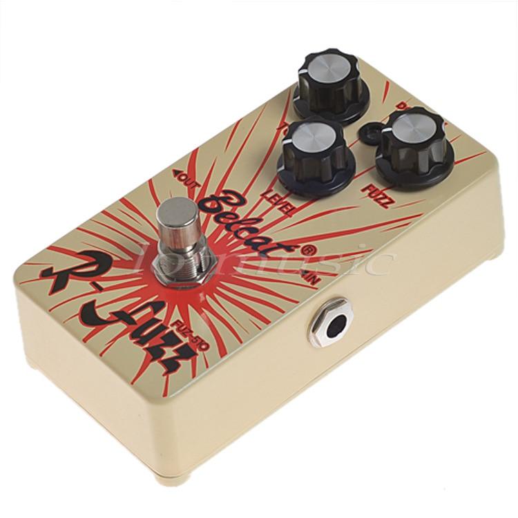 Guitar Effect Pedal Fuzz Tone Pedal Belcat FUZ-510 Yellow- Ture Fuzz Bypass<br>