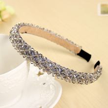 Shining Crystal Fashional Modern Style Headband Hairbands for Girls Headwear  Hair Accessories for Women