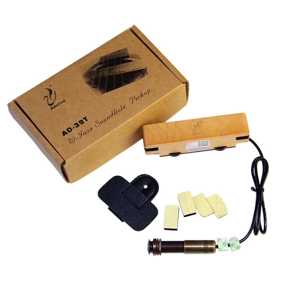 Adeline AD-39T W-JAZZ series pickup acoustic magnetic soundhole pickup Folk Guitar &amp; Fingerstyle Guitar guitar pick holder<br>