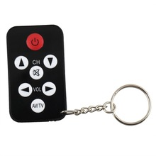 1pc 433MHz TV Mini Key chain battery Universal Remote Control for Philips for Sony for Panasonic for Toshiba Drop shipping