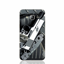 pistols guns military knives knife takedown colt cell phone case cover for Iphone 4S 5 5S 5C 6 6S Plus for Samsung galaxy S3/4/5