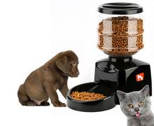 VILEAD Super Smart Pet Automatic feeder 5.5 Liter Large Timer Automatic Pet Dog Cat Feeder Electronic Portion Control(China)
