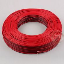 1m 2m 3m 5m 10m 18AWG, 2pin Red Black cable, PVC insulated wire,18 awg wire , Electric cable, LED cable, DIY Connect, free ship(China)