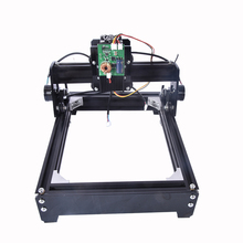 New 15W 12v4A laser engraving machine small marking machine picture desktop cutting plotter laser cutting machine (140mm*200mm)