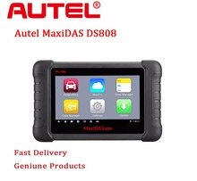 Sole Agency 100% Original Autel MAXIDAS DS808 Scanner on line Update From Autel DS 708 Internet Same Function As Scanner MS906(China)