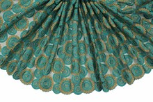 2016 Latest New Arrival Nigeria Yellow Green Ash Grey Blue Wine Red african Tulle Net Gold White French lace Fabric (16(China)