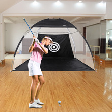 Sport Training Equipment Golf Practice Hit Net Hitting Cage Training Tent with Carry Bag
