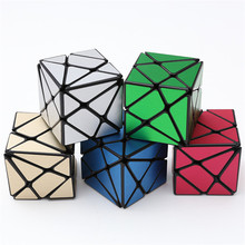 ZCUBE Multi-Color Professional Competition Magic Speed Cube IQ Test Toy Strange-Shape Cube for Adults or Children(China)