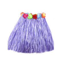 Hot Cheerleaders Skirts For Kid Child Girl Flower Hula Grass Skirt Fancy Short Costume Skirt Dance(China)
