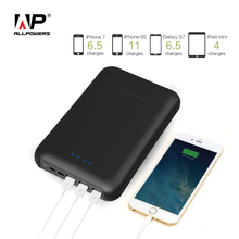 ALLPOWERS Official High Capacity 30000mAh Power Bank Quick Charging for iPhone 6 6s 7 8 8s Samsung Galaxy s6 s7 s8 HTC.(China)