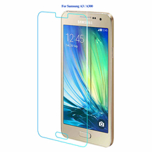Buy Tempered Glass Samsung Galaxy A3 A5 A7 2016 Screen Protector 9H Explosion Proof Protective Glass Samsung A310 A510 Film for $1.39 in AliExpress store