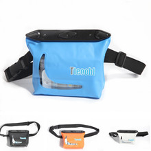 Quality PVC 20M underwater waterproof pockets three-dimensional Waist Bag Surfing bag watertight Storage package diving