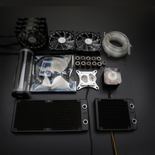 Syscooling liquid cooling colorful control system with high performance water pump and 240mm heat sink