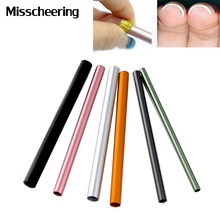 Colorful Metal Rod C Curves Sticks,6pcs/set DIY Guide Acrylic Manicure Nail Form,Nail Art Tools(China)