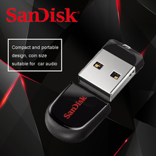 SanDisk CZ33 USB mini Pen Drives 8GB 16GB 64GB USB 2.0 memory stick USB flash drive 32GB U disk Support Official Verification(China)