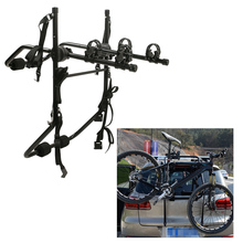 Aluminum Alloy Bike Rack Bicycle Rack Hitch Carrier Fits Mount Carrier Car Truck Trailer Carried Bicycle Rack for SUV for MPV
