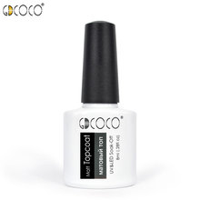 70312e# GDCOCO 8ml UV LED Soak off Matte top coat Gel Varnish Nail Art matt Gel nai Polish
