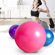 1PC Abdominal Aerobic Body Building Exercise Equipment Exercise Pilates Balance Training Ball Gym Yoga Fitness Ball 55/65/75cm(China)