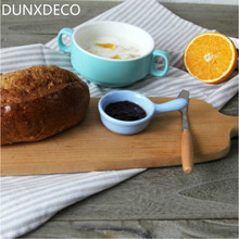 DUNXDECO 1PC 45x60cm Classical Stripe Vintage Linen Cotton Table Placemat Store Table Mat Napkin Decoration Photo Prop